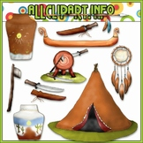 $1.00 BARGAIN BIN - Native American Accents 1 Clip Art