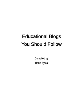 100 Best Educational / Teaching Blogs