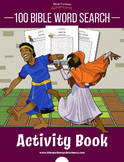 100 Bible Word Search Activity Book