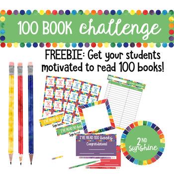 100 Book Challenge FREEBIE