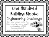 100 Building Blocks: Engineering Challenge Project ~ Great STEM Activity!