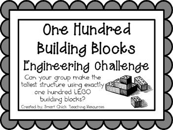 100 Building Blocks: Engineering Challenge Project ~ Great STEM Activity!