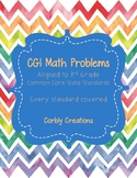 100 CCSS 3rd Grade CGI Word Problems