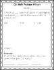 100 CCSS 3rd Grade CGI Word Problems