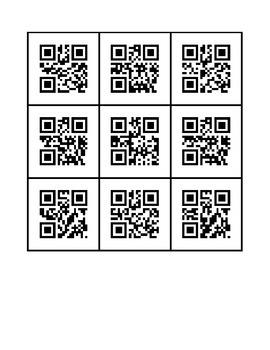 100 CVC QR CODE Flashcards