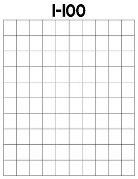 Number Charts 1-500
