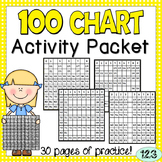 100 Chart Worksheets {NO PREP} Packet