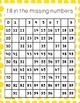 100 Chart Activity {NO PREP} Packet