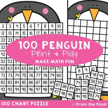 100 Chart Activity {Penguin}