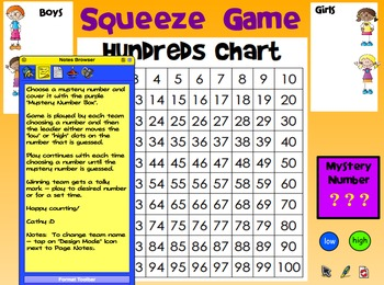 100 Chart Fun! (Flipcharts for Promethean Activboard)