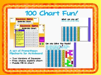 100 Chart Fun! (Flipcharts for Promethean Activboard)