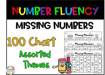100 Chart- Missing Numbers
