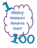 100 Chart Missing Numbers Pack