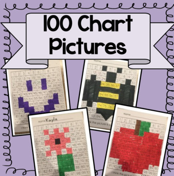 100 Chart Mystery Picture BUNDLE!  (TEN Mystery Pictures Included!)