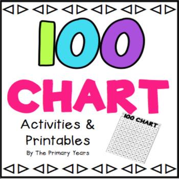 100 Chart {Printables & Activities}