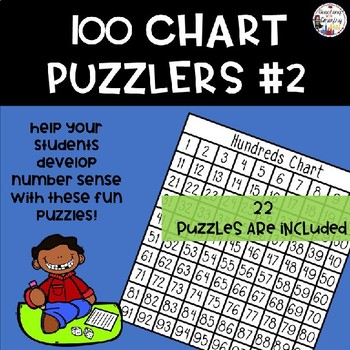 100 Chart Puzzle #2