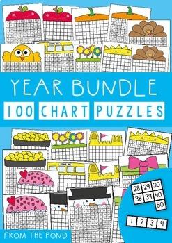 100 Chart Puzzle Bundle