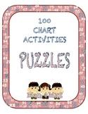 100 Charts: Puzzles