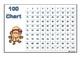 100 Chart Pyjama Monkeys Colour