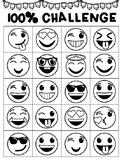 100% Chart - Reward Chart