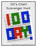 100 Chart Scavenger Hunt
