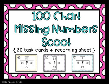 100 Chart Scoot / Task Cards