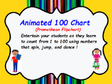 100 Chart With Animated Nurmbers