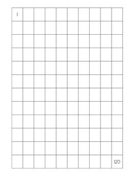 100 Chart and 120 Chart Freebie