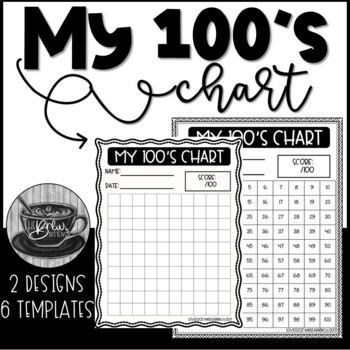100 Charts Printables and Practice