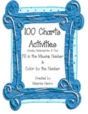 100 Charts and Activities, Fill in the Missing Numbers & Color by the Numbers
