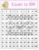 100 Charts with Skip Counting - Easter