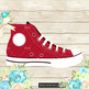 100 Chuck AllStar Sneakers Clip Arts Fashion Shoes