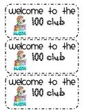 100 Club Reward Cards