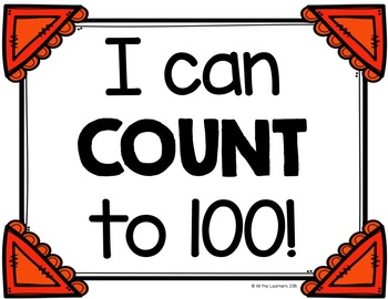 100 Club {Writing and Counting to 100}