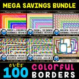 100 Colorful Borders & Frames - Seller Toolkit Bundle
