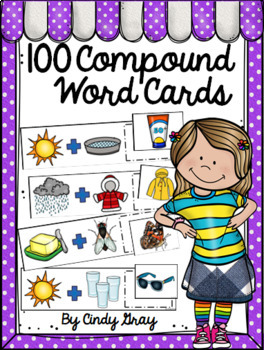 100 Compound Word Cards ~ Set 1