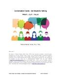 100 Conversation Cards - PRINT-CUT-TALK!
