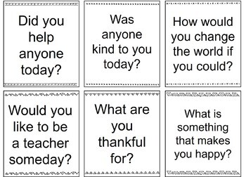 100 Conversation Starters Cards