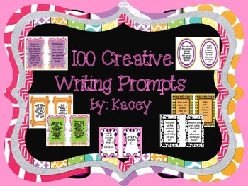 100 Creative Writing Journal Prompts