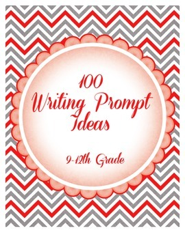 100 Creative Writing Prompts and Ideas
