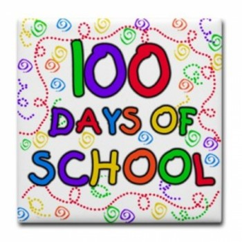 100 DAYS for 5th grade - Photobooth App writing activity