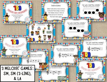 100 DAYS OF SCHOOL BUNDLE! Songs, Orff, & Melodic Games