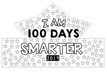 100 DAYS OF SCHOOL CROWNS