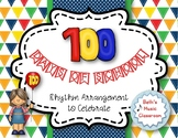 100 DAYS OF SCHOOL - Rhythmic Instrument & Orff Arrangement