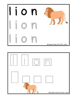 100 DIFFERENTIATED Handwriting task cards: tracing and writing