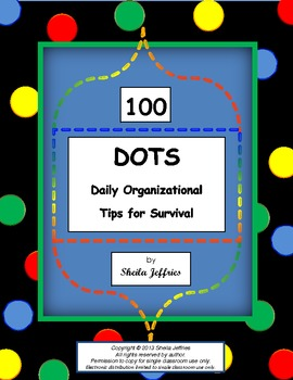 100 Daily Organizational Tips for Survival