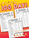 100th Day of School: Estimation & Counting Activity