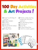 100 Day Activities & Art Projects!