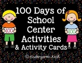 "100 Day Activity ""I Can"" Activities"