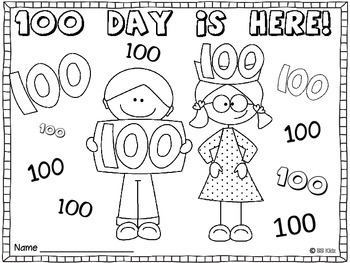 100 Day Booklet  - One Hundred Day is Here!